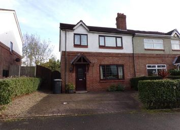Thumbnail 3 bed semi-detached house for sale in Fell Street, Leigh, Greater Manchester