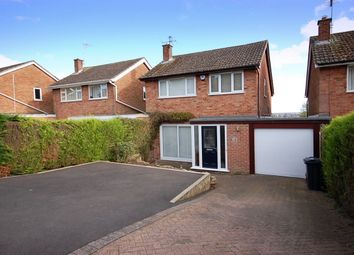 Thumbnail 3 bed detached house for sale in Longstone Rise, Belper