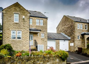 3 bed link-detached house for sale in Broadfield Park, Holmbridge, Holmfirth HD9