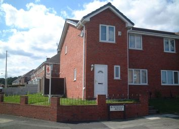 Thumbnail 3 bed semi-detached house to rent in Mosedale Avenue, Moss Bank, St. Helens