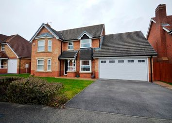 Thumbnail 4 bed detached house for sale in Hermitage Gardens, Chester Le Street