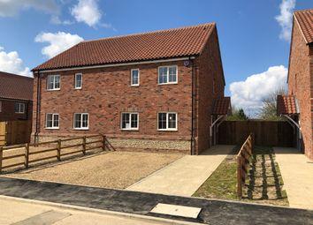 Thumbnail 2 bedroom semi-detached house for sale in Church View Lane, Gayton, Kings Lynn, Norfolk