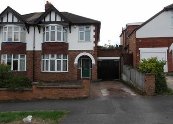 Thumbnail 3 bed semi-detached house for sale in Walker Road, Birstall, Leicester, Leicestershire