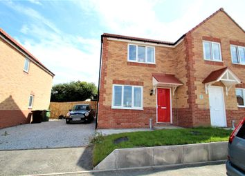 Thumbnail 2 bed semi-detached house for sale in Wedgewood Way, Knottingley, West Yorkshire
