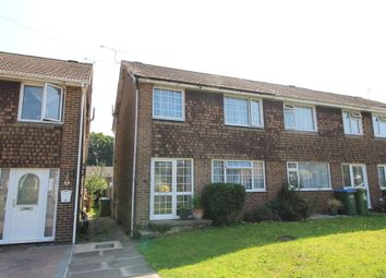 Thumbnail 3 bed semi-detached house for sale in Lawson Close, Swanwick, Southampton