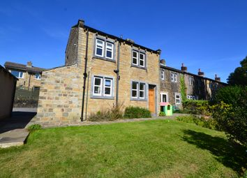 Thumbnail 3 bed end terrace house to rent in New Road, Kirkheaton, Huddersfield