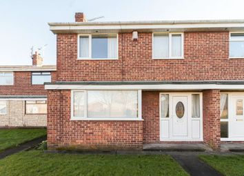 Thumbnail 3 bed terraced house for sale in Budle Close, Blyth