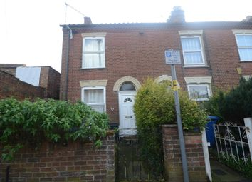 Thumbnail 2 bedroom terraced house for sale in Northcote Road, Norwich