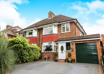 Thumbnail 3 bed semi-detached house for sale in Hampden Road, Hitchin, Hertfordshire, England