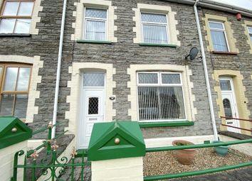 Thumbnail 3 bed terraced house for sale in Pengarreg Road, Tonyrefail -, Porth