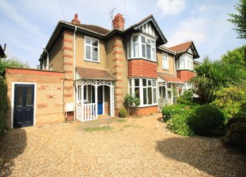 Thumbnail 5 bedroom semi-detached house for sale in Park Road, Peterborough