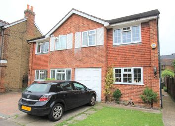 Thumbnail 4 bed semi-detached house for sale in Chesterfield Road, Ashford, Surrey