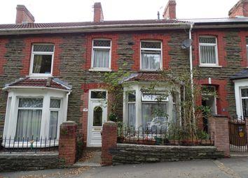 Thumbnail 3 bed terraced house for sale in Upper Glyn Gwyn Street, Trethomas, Caerphilly