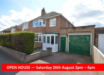 Thumbnail 3 bed semi-detached house for sale in Pulford Drive, Scraptoft, Leicester