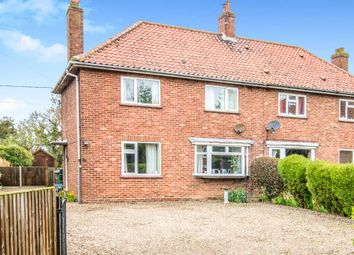 Thumbnail 3 bedroom semi-detached house for sale in Coronation Close, Happisburgh, Norwich