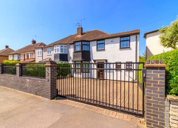 Thumbnail 3 bed semi-detached house for sale in Wensleydale Avenue, Clayhall, Ilford, Essex