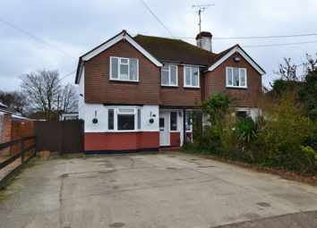 Thumbnail 3 bed semi-detached house for sale in St. Johns Road, Whitstable