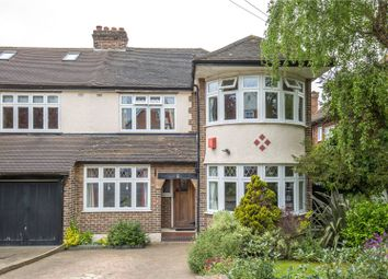 Thumbnail 3 bed semi-detached house for sale in Hankins Lane, Mill Hill, London