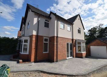 Thumbnail 3 bed semi-detached house for sale in Uppingham Road, Humberstone, Leicester