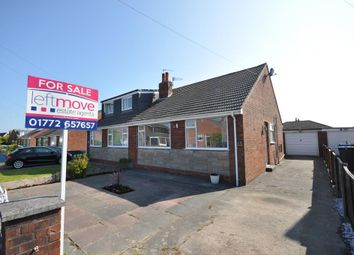 Thumbnail 2 bedroom semi-detached bungalow for sale in Hodgson Avenue, Freckleton, Preston, Lancashire