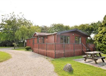 Thumbnail 4 bed mobile/park home for sale in Pinewood Retreat, Sidmouth Road, Lyme Regis