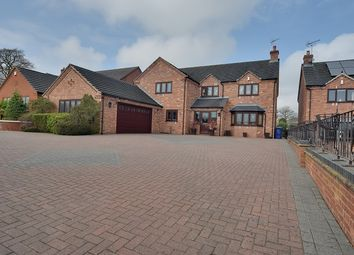 Thumbnail 4 bed detached house for sale in Stafford Road, Uttoxeter, Staffordshire