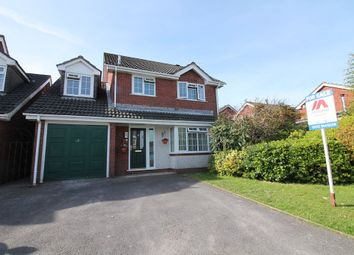 Thumbnail 4 bed detached house for sale in Merafield Drive, Plympton, Plymouth