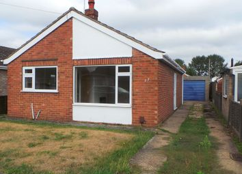 Thumbnail 2 bed detached bungalow to rent in St Johns Avenue, North Hykeham, Lincoln