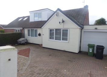 Thumbnail 4 bed bungalow for sale in Acorn Avenue, Bedlington