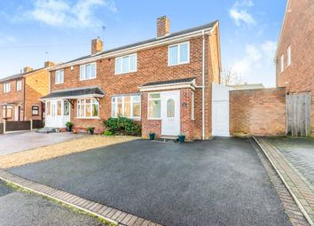 Thumbnail 3 bedroom semi-detached house for sale in Redwood Avenue, Dudley