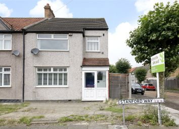 Thumbnail 3 bed end terrace house for sale in Stanford Way, London