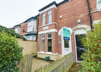 Thumbnail 2 bed terraced house to rent in Beaconsfield Gardens, Raglan Street, Hull