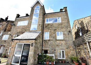 Thumbnail 1 bed flat to rent in The Gables, Station Road, Hadfield, Glossop