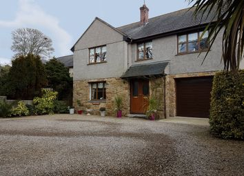 Thumbnail 4 bed detached house for sale in Tregembo Hill, Relubbus, Penzance
