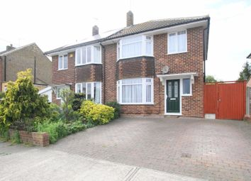 Thumbnail 3 bed semi-detached house for sale in Newton Road, Whitstable