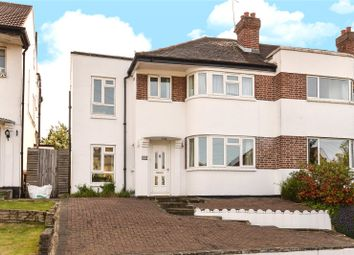 Thumbnail 4 bed end terrace house for sale in Harefield Road, Uxbridge, Middlesex