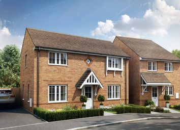 "Thumbnail 3 bedroom detached house for sale in ""York"" at Robell Way, Storrington, Pulborough"