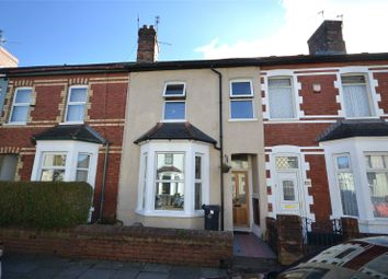 Thumbnail 2 bed terraced house for sale in Pembroke Road, Canton, Cardiff