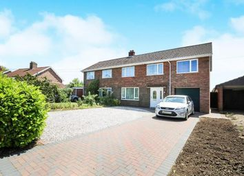 Thumbnail 4 bedroom semi-detached house for sale in Attleborough, Norwich, Norfolk