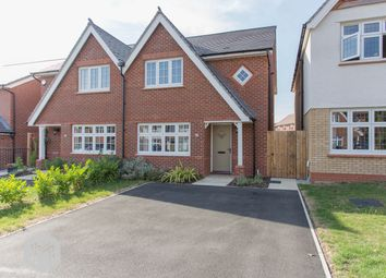 Thumbnail 3 bed semi-detached house for sale in Dowley Gap Road, Worsley, Manchester