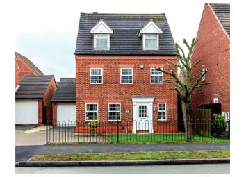 Thumbnail 5 bed detached house for sale in Common Lane, Fradley, Lichfield
