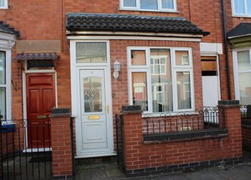 Thumbnail 3 bed terraced house to rent in Stafford Street, Belgrave, Leicester