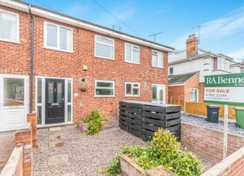 Thumbnail 3 bed terraced house for sale in Gillam Street, East Worcester, Worcester, Worcestershire