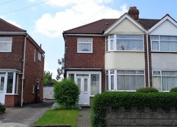 Thumbnail 3 bed semi-detached house for sale in George Fredrick Road, Sutton Coldfield, Birmingham