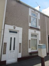 Thumbnail 2 bedroom terraced house to rent in Fleet Street, Sandfields, Swansea.