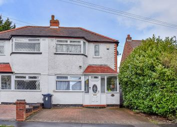 Thumbnail 3 bed semi-detached house to rent in Lower White Road, Quinton, Birmingham