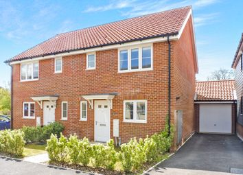 Thumbnail 3 bed semi-detached house for sale in Willowcroft Way, Cringleford, Norwich