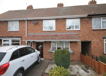 Thumbnail 3 bed terraced house for sale in Wolsey Road, Newark, Nottinghamshire.