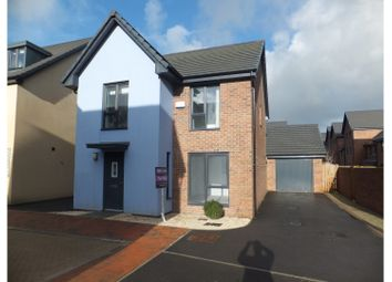 Thumbnail 4 bedroom detached house for sale in Baruc Way, Barry