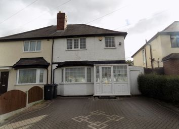 Thumbnail 3 bed semi-detached house for sale in Aldridge Road, Perry Barr, Birmingham